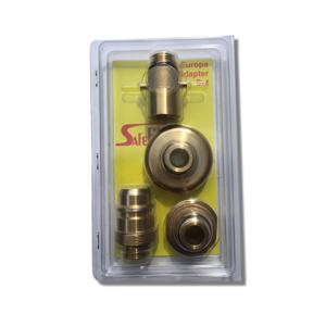 Sada Adaptérů pro plnění kompozitních plynových láhví Safefill - pevné připojení
