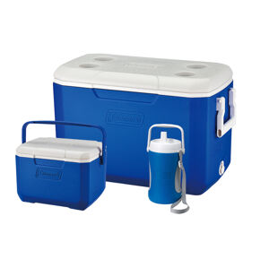 Cooler Combo: POLYLITE 48QT+FlipLid 6 Personal + 1/2 Gallon Performace