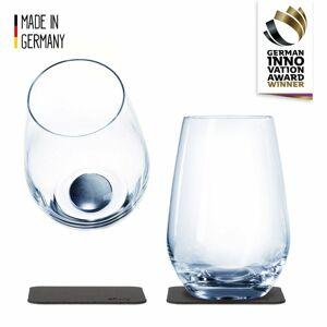 Silwy magnetická sklenice na drink 2 ks // Crystal Glasses