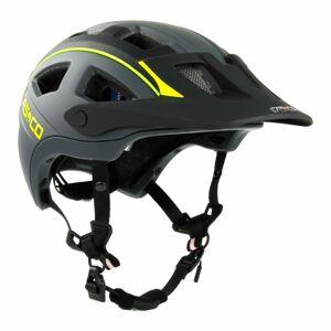 Casco MTBE 2 cyklistická helma Černá, žlutá M = 56-58 cm