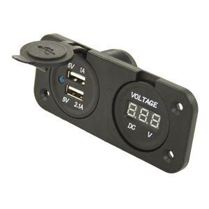 Nabíječka USB s voltmetrem