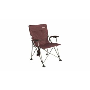Židle Outwell CAMPO XL CLARET