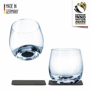 Silwy magnetická sklenice na whisky 2 ks // Crystal Glasses